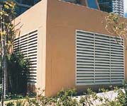 Controlled Airflow Louvres
