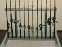 Fishing Rod floor rack
